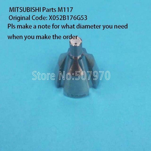 MITSUBISHI Machine Parts Wire Guide M117 X052B176G53 for CNC Machine ...
