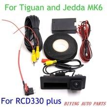 Высокое качество! RCD330 плюс MIB AV камера заднего вида для VW Golf 5 6 7 JETTA Mk5 MK6 TIGUAN Passat B6 B7 CC TOURAN поло
