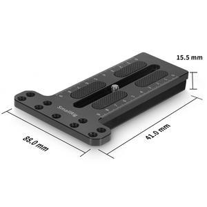 Image 3 - Монтажная пластина для камеры SmallRig BMPCC 4k для DJI Ronin S Gimbal для Sony/Canon/Nikon Camera 2308