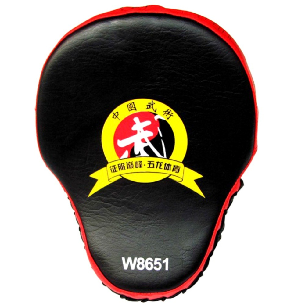 Fingerless gloves at target - New Hand Target Mma Focus Punch Pad Boxing Training Gloves Karate Muay Mitts Thai Kick Fighting