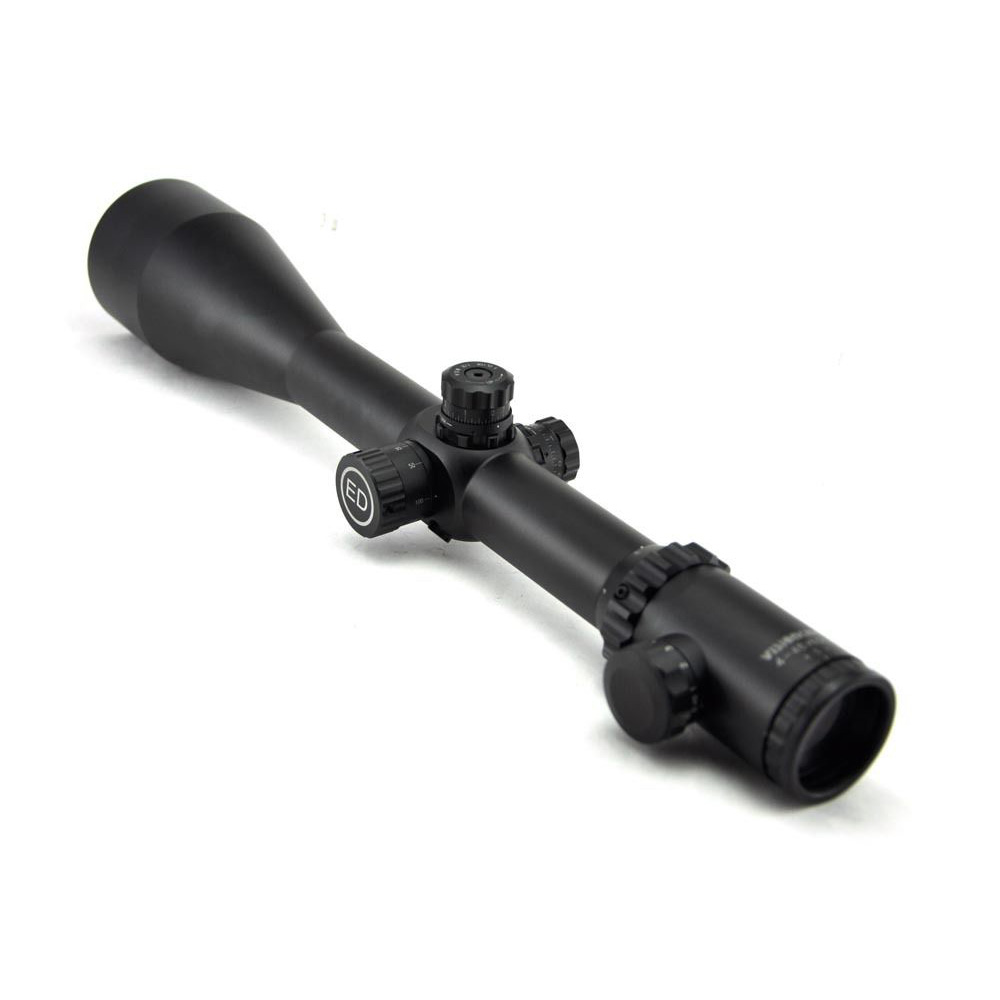 Visionking 4-48x65ED Top Quality Hunting Riflescope Wide Field Of View Super Shockproof Rifle Scope W/ 21mm Mounting Rings visionking 4 20x50 top quality optics riflescope high power shockproof rifle scope for hunting tactical riflecopes w 11mm mounts