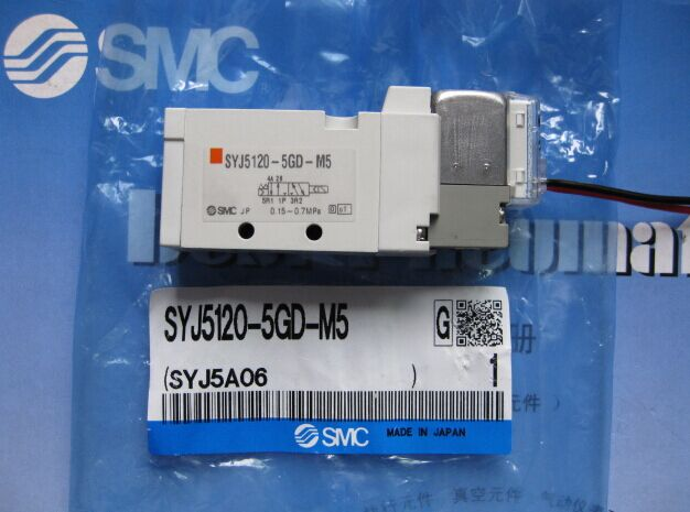 BRAND NEW JAPAN SMC GENUINE VALVE SYJ5120-5MZD-C6 brand new japan smc genuine valve vs4130 034