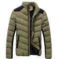 2016 Winter Jackets Men Cotton Padded Coats Fashion Patchwork Warm Thicker Brand Men Clothes High Quality Outwear Plus Size 5XL