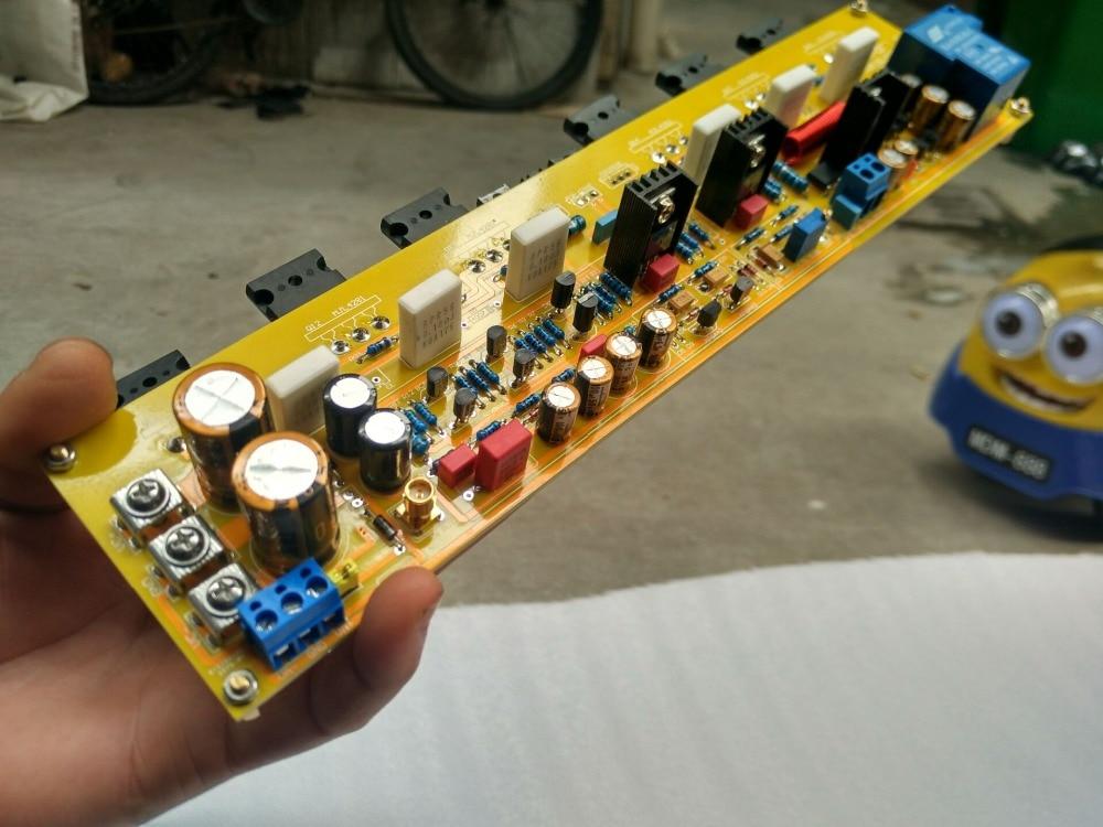 KRELL KSA50 50W 2SC5200 / 2SA1943 + 2SC2073 / 2SA940 + 2SC5171 / Power  amplifier tube A pure power amplifier board