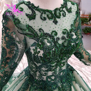 Image 5 - AIJINGYU ウェディング衣装ガウンヴィンテージ王女の母ショートプラスサイズゴシックドレス結婚式