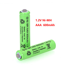 1.2v NI-MH AAA Batteries 600mAh Rechargeable nimh Battery 1.2V Ni-Mh aaa For Electric remote Control car Toy RC ues