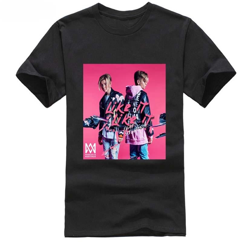 marcus and martinus modis Hot Sell 2018 Fashion Norway Like It Like It tshirt men discount harajuku vaporwave france