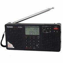 TECSUN PL-398MP радио DSP FM и MP3 плеер FM стерео/СВ/КВ/ДВ приемник sd карты двойной Динамик Портативный радио рекордер Y4132A