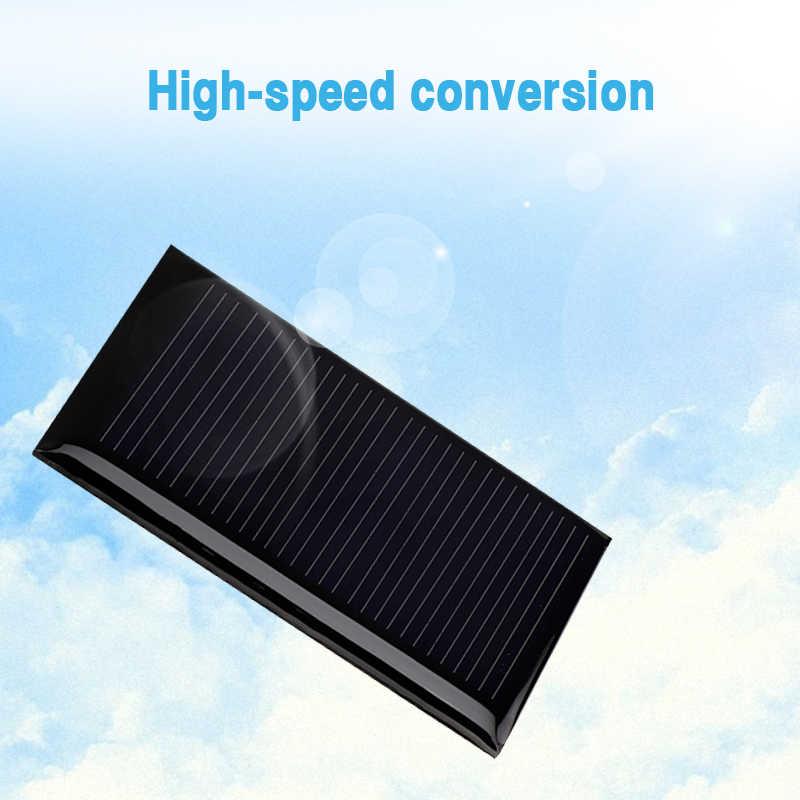 Overfy солнечная панель 5 в мини Солнечная система DIY для батареи зарядные устройства для сотовых телефонов переносная солнечная панель 0,15 Вт