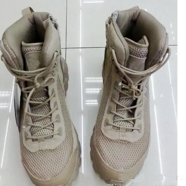 2016 New Type Mesh Boots Desert Sand Tactical Comb...