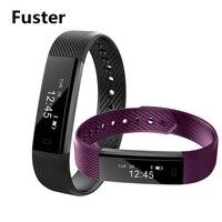 Pretty Thin Shape ID115 Smart Band Bluetooth 4 0 Wristband Remote Control Bracelet Activity Tracker Sleep