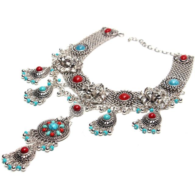 Fashion Alloy Statement Bohemian Necklace