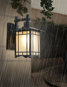 Image 5 - Retro Chiếu Sáng Ngoài Trời Tường Đèn Hiên Đèn Đèn Lồng Nhật Bản Không Thấm Nước Hành Lang Tường Vườn Ánh Sáng Ngoài Trời Đèn