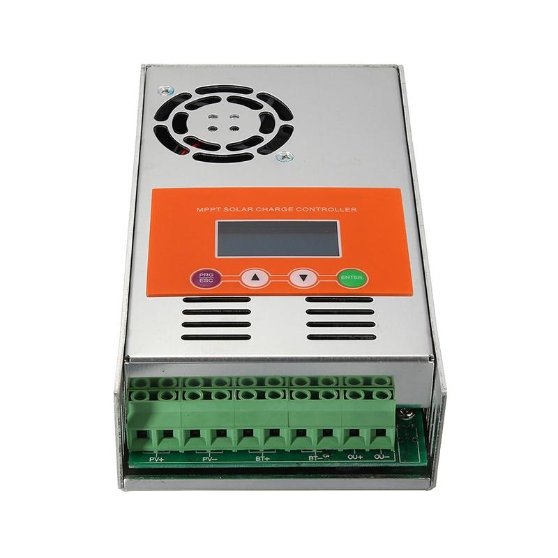 30A/40A/50A/60A MPPT 12V/24V/36V/48V Recognition Automatically DC System Solar Charge Controller Regulator #26021330A/40A/50A/60A MPPT 12V/24V/36V/48V Recognition Automatically DC System Solar Charge Controller Regulator #260213
