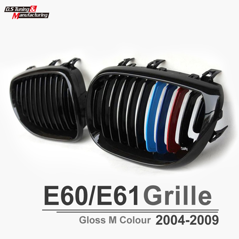 ФОТО for BMW E60 E61 front kidney grill