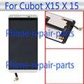 5.5 pulgadas Pantalla LCD Full + Pantalla Táctil de Cristal Digitalizador Asamblea Blanco reemplazo Para Cubot X15 X 15 Dual SIM LTE El Envío Libre