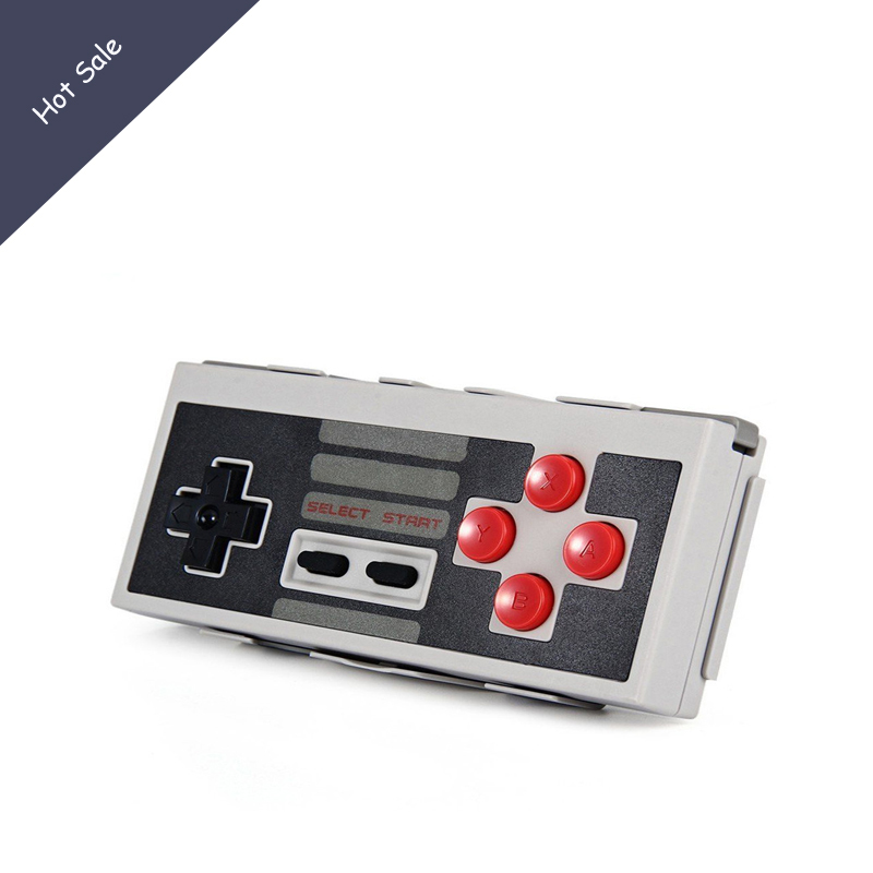 8Bitdo NES30 Wireless Bluetooth Controller Dual Classic Joystick for iOS Android Gamepad PC Mac Linux Upgradable Firmware terios s3 wireless bluetooth gamepad bluetooth joystick gaming controller black for android smartphone tablet pc holder included