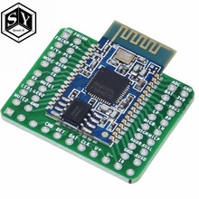 1PCS Bluetooth Stereo Audio Module Transmission BK8000L AT Commands SPP Bluetooth Speaker Amplifier DIY(China)