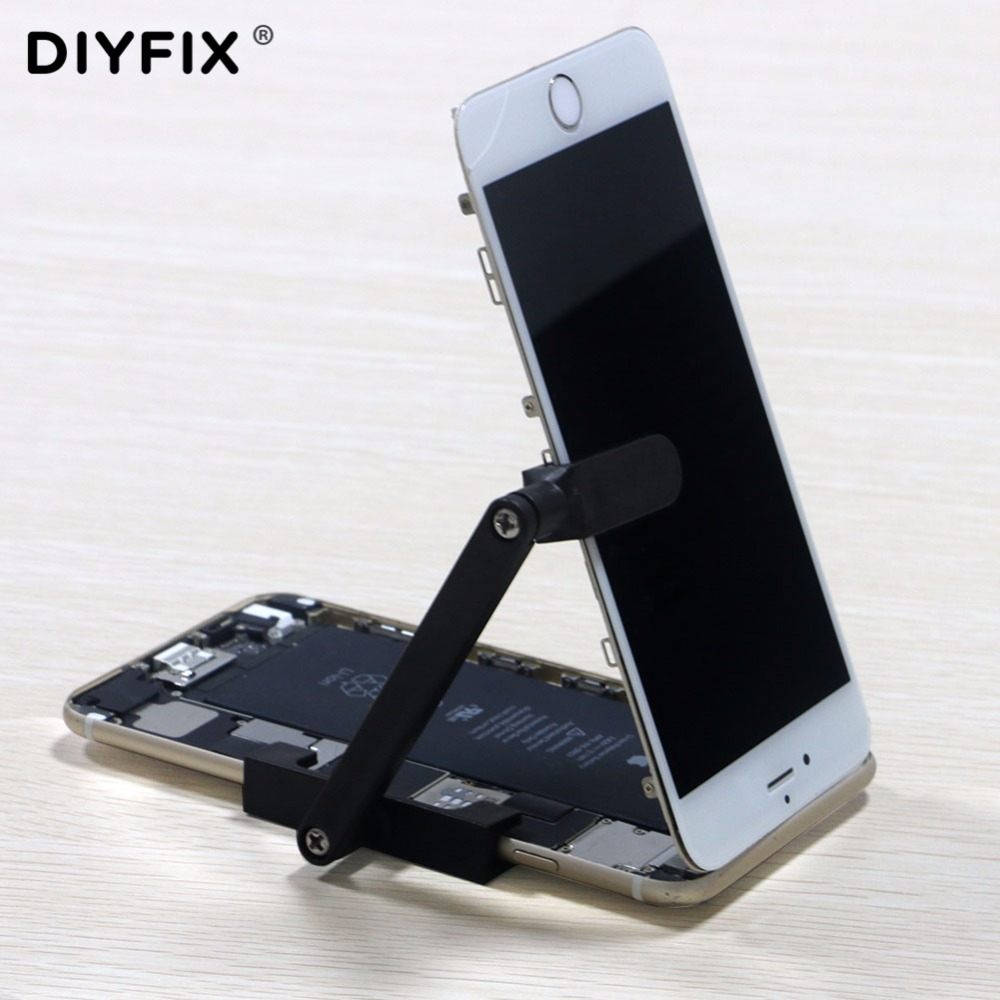buy online 24bd2 f5d08 US $4.99 15% OFF|DIYFIX Adjustable LCD Screen Clamp Fixture Plastic Holder  for iPhone 6 6s 6Plus 6s Plus Repair Work Tools-in Hand Tool Sets from ...