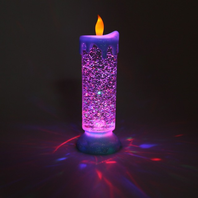 De Halloween Navidad LED Colorida Electrónica Luz de las Velas de Cumpleaños de Simulación Niños Partido Divertido Del Juguete Juguetes de Emisión de Luz