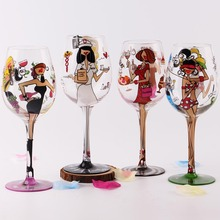 Crystal Brithday Gift Glasses Cup for Lady Wedding Party Marriage Decoration Cup for Gift Wine Drink Cup