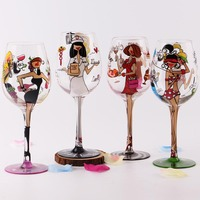 Crystal Brithday Gift Glasses Cup For Lady Wedding Party Marriage Decoration Cup For Gift Wine Drink