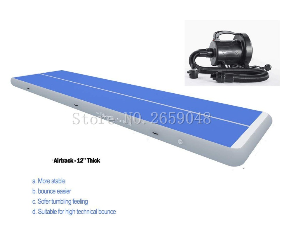 Free Shipping 7 x 1 x 0.2m Air Tumbling Track Gymnastics Mats Air Floor Mat Inflatable Tumble Track Inflatable AirTrack new arrival yoga mats 0 9 3m inflatable tumble track trampoline air track floor home gym gymnastics inflatable air tumbling mat