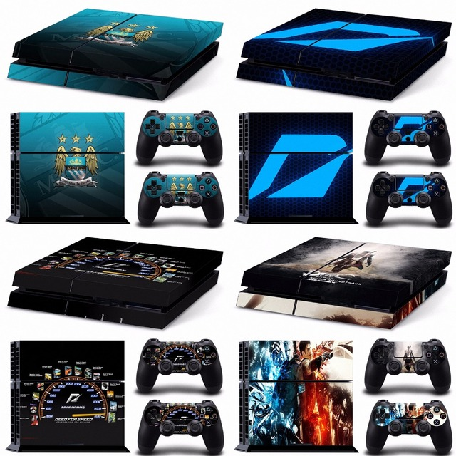Ac Milan Cover Ps4 Need For Speed Pokemon Play Station 4 Consoles With Controller Vinyl