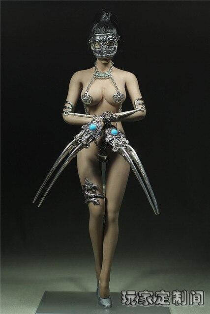 """1/6 рисунок куклы для 12 """" действие рис для кукол, Женский сексуальное платье подходит PHICEN кукла. Не включают куклы и другие 2520"""