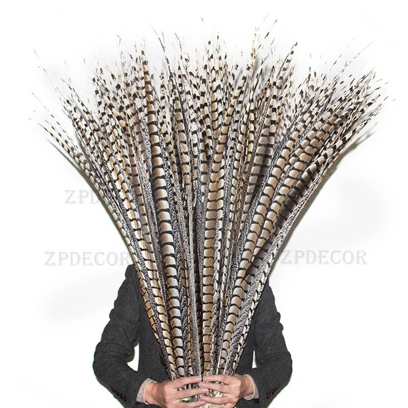 En gros 55-110 CM/22-44 pouces naturel dame amherst queue faisan plume carnaval Costumes fête maison mariage décorations