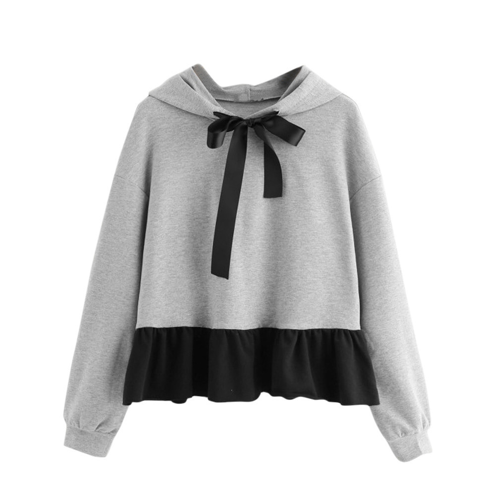 fe94e941e4198 Buy bow hoodies and get free shipping on AliExpress.com