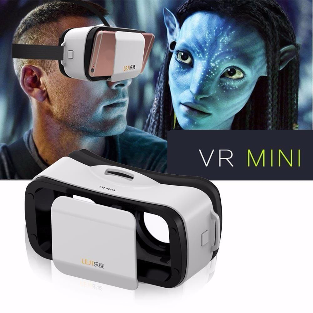 CAJA III 3 LEJIVR VR Mini Headmount de Realidad Virtual VR Realidad Virtual 3D