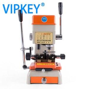 Image 5 - Máquina chave vertical da picareta do fechamento da máquina de corte da chave de defu 998c duplicando a máquina 220 v 110 v para fazer ferramentas do serralheiro das chaves