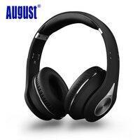 Августа ep640b Bluetooth Беспроводной наушники с микрофоном/NFC за ухо bt4.1 Hi-Fi стерео aptX гарнитура для 2 устройств Bluetooth