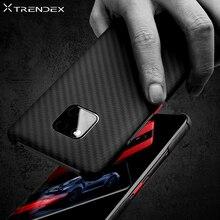TRENDEX ハイブリッドケース Huawei 社メイト 30 20 プロ P30 100% リアル本物のカーボン繊維耐衝撃のためにメイト 20 RS Coque