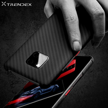 TRENDEX Hybrid Case For Huawei Mate 30 20 Pro P30 100% Real Genuine Carbon Fiber Shockproof Slim Case Cover For Mate 20 RS Coque