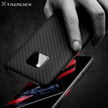 TRENDEX Hybrid Fall Für Huawei Mate 30 20 Pro P30 100% Echte Echtem Carbon Faser Stoßfest Schlank Fall Abdeckung Für mate 20 RS Coque