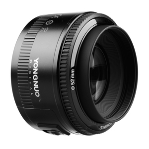 """Image 4 - YONGNUO YN 50 מ""""מ עדשת פוקוס אוטומטי עדשה 50 מ""""מ צמצם גדול F1.8/f1.8 לcanon EOS מצלמות DSLR"""