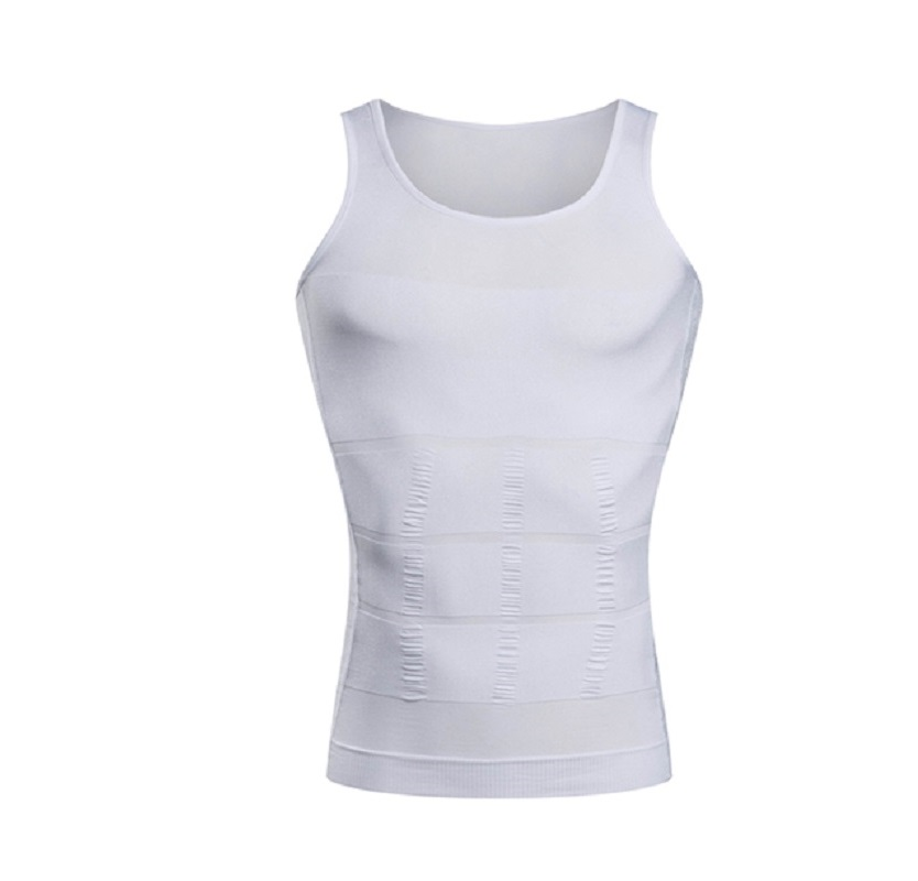 Men's Slimming Body Shapewear Under-Shirt 3