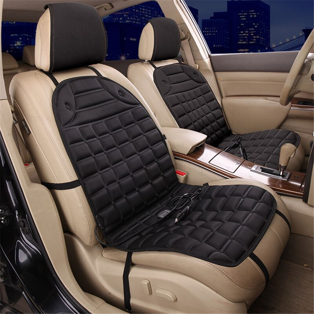 Car colour heat - Car Seat Winter Warmer Car Heated Seat Cushion Hot Cover Double Pad Electric Heat Supplies Colour And Grey In Automobiles Seat Covers From Automobiles