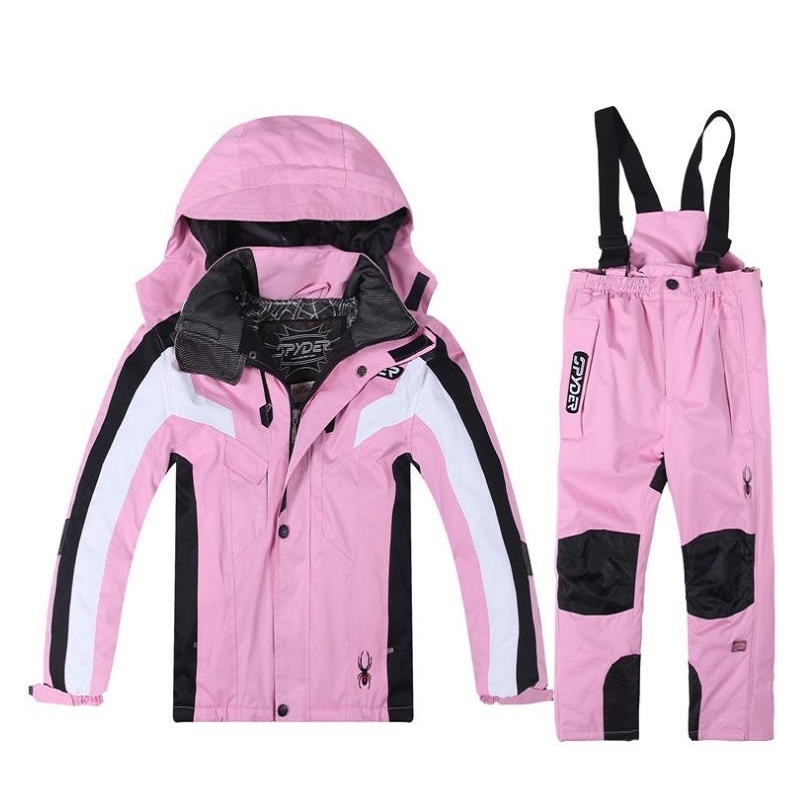 Boys and girl Ski Sets Winter Waterproof Windproof Kids Ski Jacket Children Outdoor Warm Hooded Snowboard Sports SuitsBoys and girl Ski Sets Winter Waterproof Windproof Kids Ski Jacket Children Outdoor Warm Hooded Snowboard Sports Suits