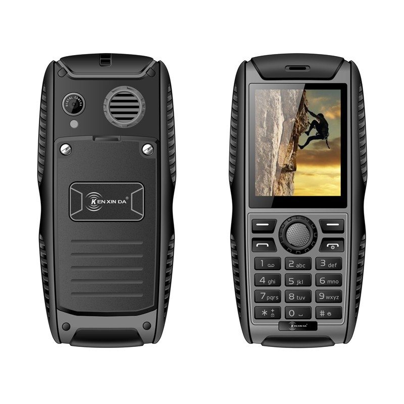 Original Kenxinda W3 IP68 Waterproof Shockproof Dustproof phone 2.2 Inch 2000mAh Battery Dual SIM with CE RHos IP68 Certificate
