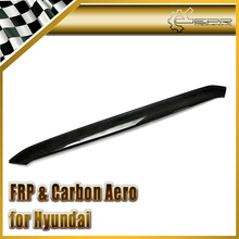 Car-styling For Hyundai Veloster Real Carbon Fiber Hood Lip In Stock