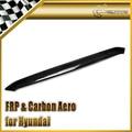 Car-styling Para Hyundai Veloster Real Carbon Fiber Capucha Lip En Stock