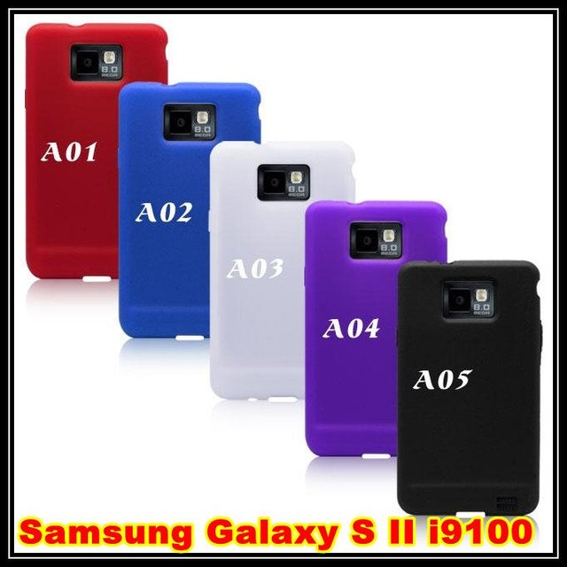 Us 4019 Soft Silicone Skin Case Cover For Samsung Galaxy S 2 Ii I9100 20pcslot In Soft Silicone Skin Case Cover For Samsung Galaxy S 2 Ii I9100