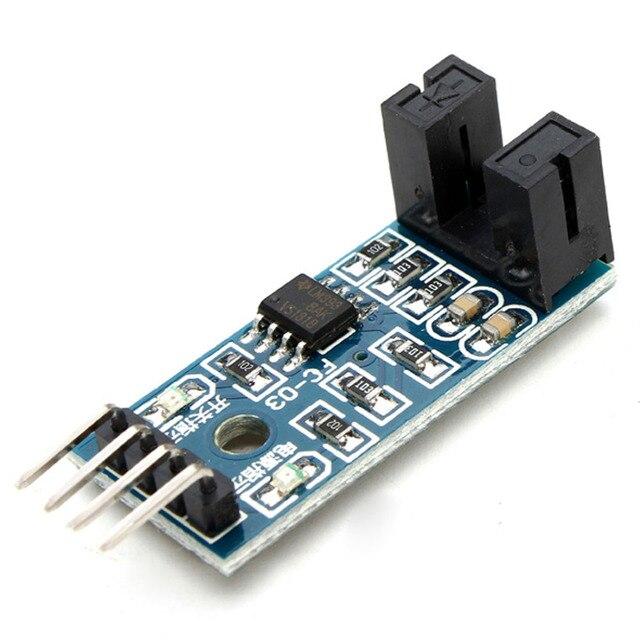 Module de mesure de vitesse Glyduino Module de compteur Module de Test de moteur Module de couplage optique de Type fente