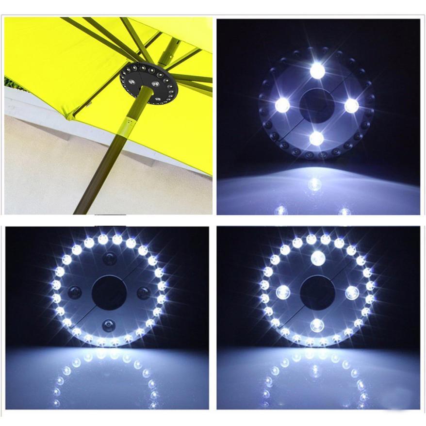 28 LEDs Umbrella Light Patio Umbrella Light Cordless 28 LED Lights Outdoor Camping Umbrella Pole Light dropshipping 18may21