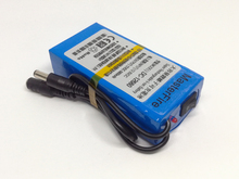 New 12V lithium battery12V 6800mah battery Super Rechargeable Li-ion Battery Pack for CCTV Camera Free Shipping
