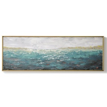 Home Decor hand painted Abstract Painting Large Size Wall Art sea oil painting wall art Living Room Decoration