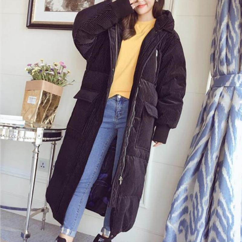 Occasionnel gray Chaud Black Épaissir Bas D'hiver 252 Hiver Zipper Long Coton À Nouvelles Capuchon Manteaux Femmes Parker Lâche Veste nTTBwvYqU